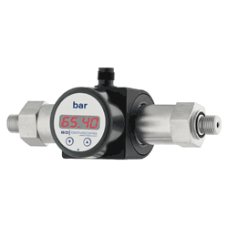 DMD 831 Differential pressure transmitter with display