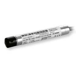Submersible ultra-small probe with ceramic diaphragm