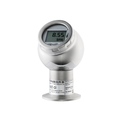Precision pressure transmitter with display